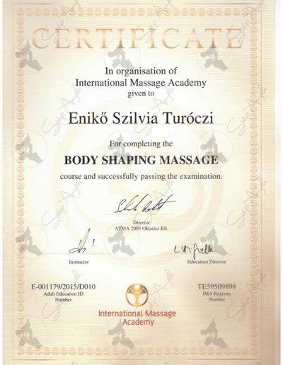 Body shaping massage
