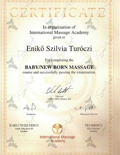 Baby/New born massage