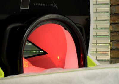 InfraSlimX - vákuum tér