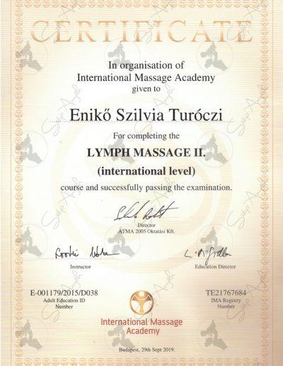 Lymph massage II