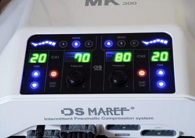 MK 300 hullámmasszázs gép