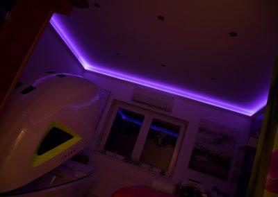 Masszázsszalon LED világítás