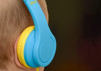 Trust gyerek fülhallgató